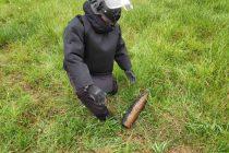 Proiectil neexplodat descoperit într-o fântână din Crăcăoani