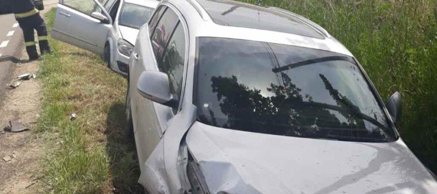 Accident rutier cu o victimă încarcerată în comuna Brusturi