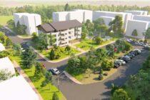 Se lucrează la noul bloc de locuințe ANL din Piatra Neamț