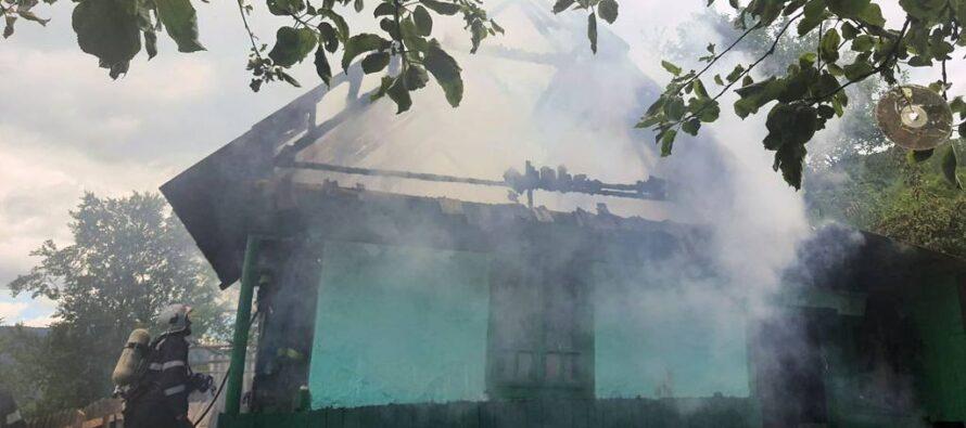O femeie din Oanțu și-a pierdut viața într-un incendiu