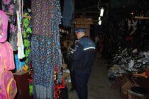 Amenzi de peste 22.000 de lei aplicate de polițiști în bazarul de la Moldoveni