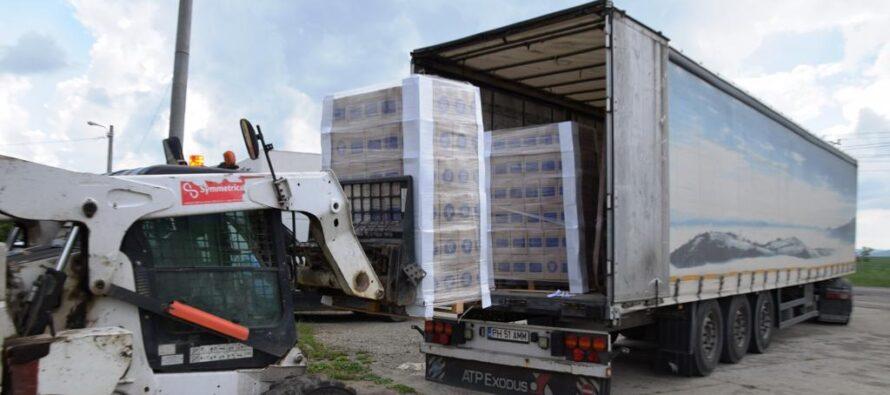 Au sosit produsele de curățenie pentru persoanele defavorizate din Piatra Neamț