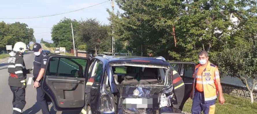 5 victime în 2 accidente rutiere