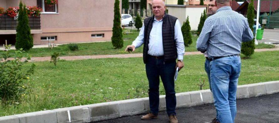 Lucrările edilitare continuă în Piatra Neamț