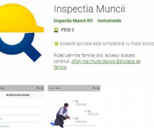 """""""Inspecția Muncii"""", aplicație mobilă gratuită pentru angajatori"""