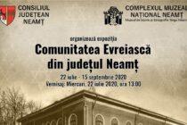Expoziție dedicată comunității evreiești la Muzeul de Istorie și Etnografie din Tg. Neamț