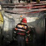 incendiu autoturism garaj scurtcircuit (1)