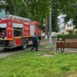 incendiu masina de spalat haine (2)