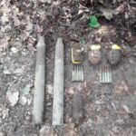 munitie neexplodata padurea nemtisor 1