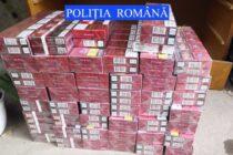 Peste 9.000 de țigarete de contrabandă confiscate de polițiști