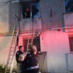 Incendiu garsoniera Piatra Neamt (1)