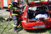 Accident rutier cu 3 victime la Bodești
