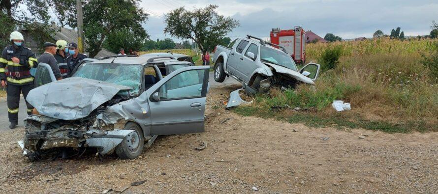 Accident rutier cu 3 victime în comuna Țibucani