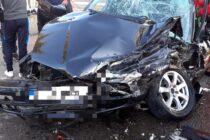 Accident între un TIR și un autoturism cu 2 victime, în comuna Ion Creangă