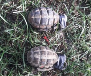 3 grenade descoperite într-o fântână din Țibucani