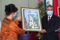 """Biblioteca Județeană """"G. T. Kirileanu"""" a fost vizitată de ambasadorul Vietnamului"""