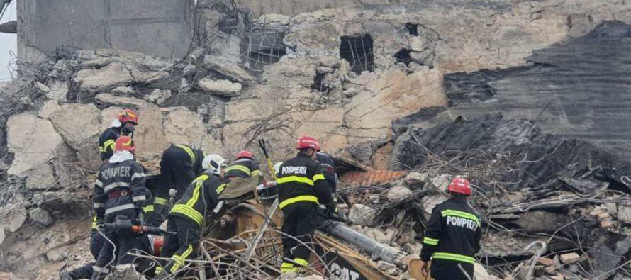Persoana prinsă sub dărâmături pe platforma Săvinești a decedat