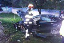 Accident rutier între un TIR și un autoturism la Petricani