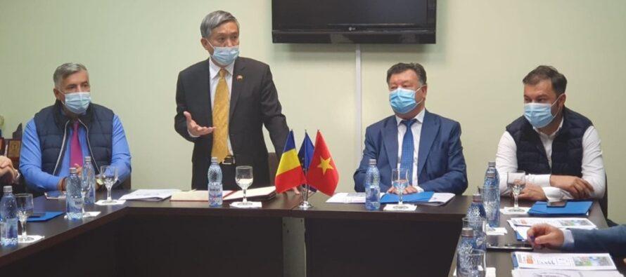 Ambasadorul Vietnamului în vizită la Camera de Comerț și Industrie Neamț