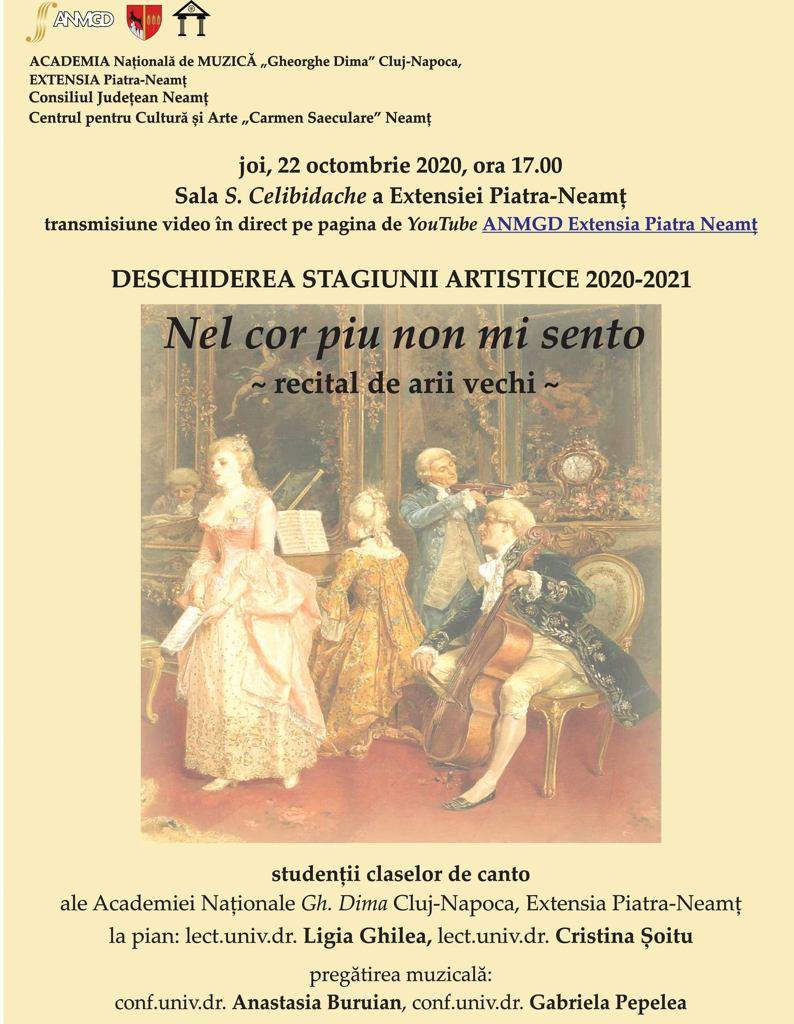 concert stagiune muzicala 2020-2021
