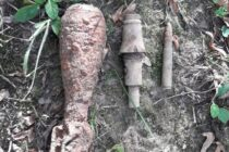 Elemente de muniție neexplodată descoperite în comuna Ion Creangă