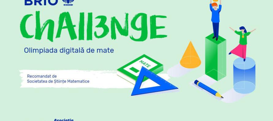 Brio Challenge – prima olimpiadă digitală de matematică din România