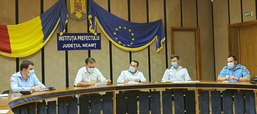 Noi restricții adoptate de CJSU pentru județul Neamț