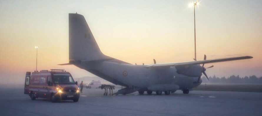 Medicul erou de pe secția ATI transportat pentru tratament la Bruxelles cu un avion militar