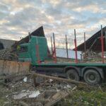 accident rutier autoturism TIR Baltatesti (1)