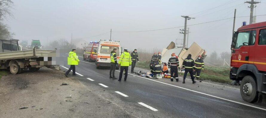 Accident rutier la Gherăiești soldat cu 2 victime. Un bărbat de 34 de ani a decedat.