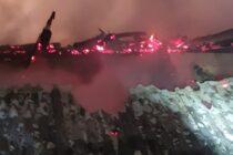 Incendiu la o locuință din Borlești, un bărbat a suferit multiple arsuri