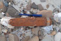 Proiectil neexplodat descoperit în localitatea Nisiporești