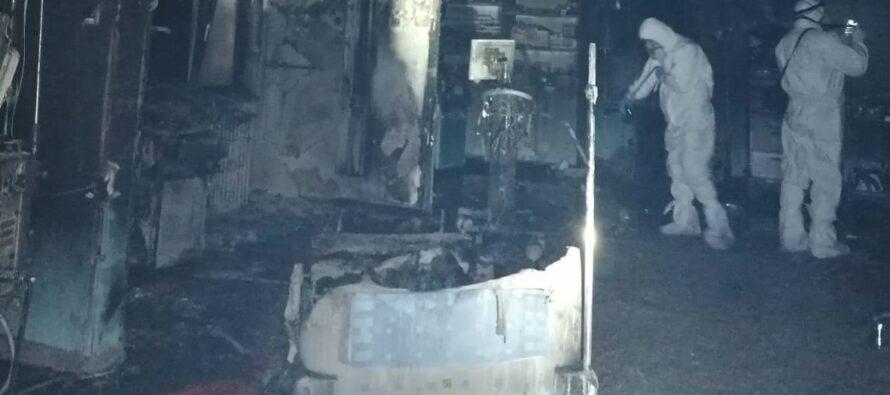 Parchetul General a preluat ancheta în cazul incendiului de la Spitalul Județean de Urgență