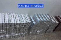Aproape 3.000 de pachete de țigări de contrabandă descoperite de polițiști în autoturismul unui cetățean din Suceava