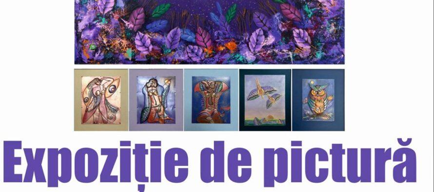Expoziție de pictură semnată de Petru Diaconu, dedicată sărbătorilor de iarnă