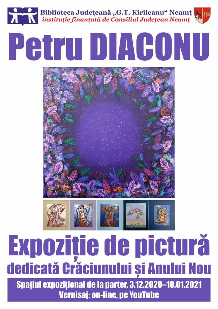 expozitie de pictura Petru Diaconu 2020