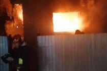 Incendiu la o locuință din comuna Ion Creangă. Pompierii atenționează cetățenii asupra pericolelor de incendiu pe timpul iernii.