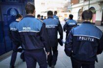 Polițiștii asigură ordinea și siguranța în timpului procesului electoral