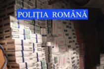 Peste 300 de litri de alcool și 31.000 de pachete de țigări de contrabandă depistate la domiciliul unor nemțeni