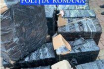 14.500 de pachete de țigări de contrabandă depistate într-o autoutilitară în Tg. Neamț