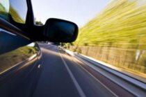 Tânăr cu permisul suspendat și cu peste 100 km/h în localitate