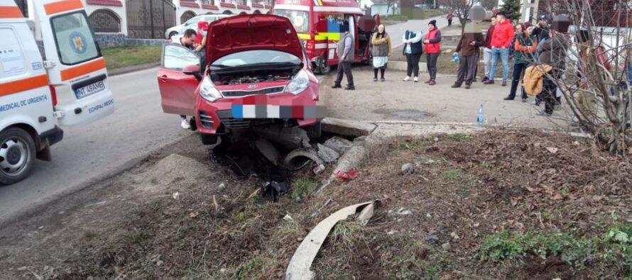 Accident rutier cu 3 victime la Grumăzești