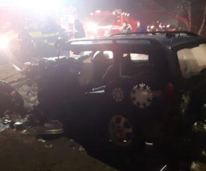 Accident rutier grav cu 3 victime la Roznov