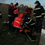 accident rutier autoturism izbit in podet oglinzi 2