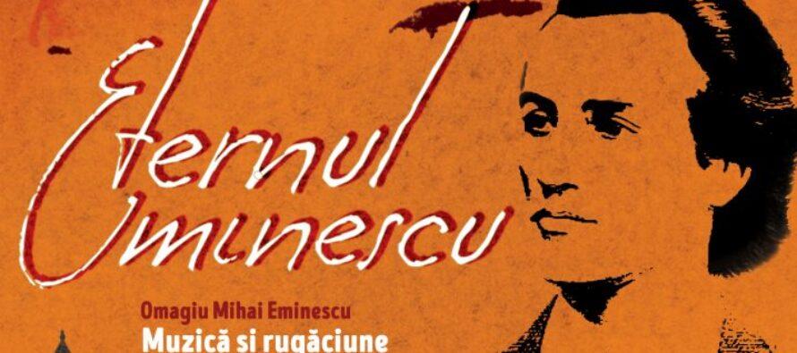 """Anul acesta, """"Eternul Eminescu"""" va fi omagiat într-un cadru religios"""