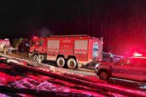 Incendiu la o baracă a Ocolului Silvic Bicaz