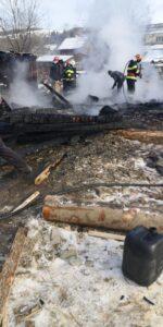incendiu gater comuna Hangu