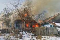 Incendiu puternic la o locuință din comuna Războieni