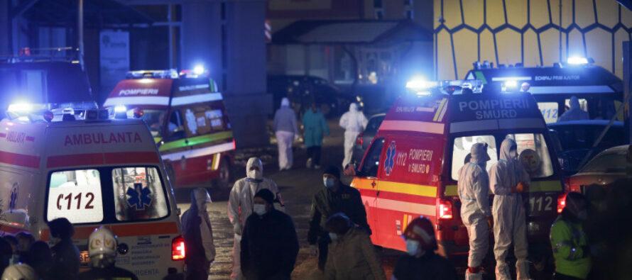 Incendiu puternic la Spitalul Matei Balș din capitală. 4 pacienți au decedat.