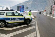 Recomandările polițiștilor pentru traficul în condiții de iarnă